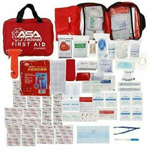 Advanced Surgical Kit, First Aid Medical Travel Trauma Pack, 234 Pieces