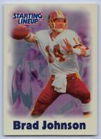 2000  BRAD JOHNSON - Starting Lineup Football Card - WASHINGTON REDSKINS
