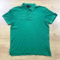 Hugo Boss Firenze XL Green Logo Short Sleeved Polo Shirt Smart Casual