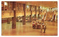 1962 Greyhound Bus Terminal Interior, Chicago, IL Postcard