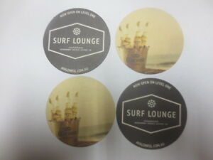 4 x CORONA BEER Special Issue / Surf Lounge,Avalon R.S.L. Beer Coasters