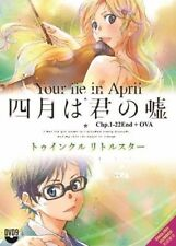 Your Lie in April (Vol 1-22 End + 2 OVA) with English Dubbed