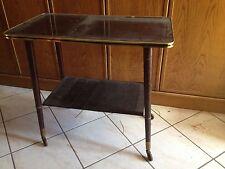 TABLE MEUBLE TV Vintage - 2 plateaux
