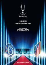 UEFA Super Cup 2012 - Chelsea - Atlético Madrid 1-4 DVD Full Match