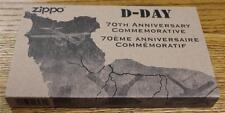 NEW Zippo 70th Anniversary D-Day Commemorative Limited Edition Lighter & Clicker