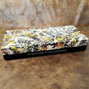Vintage 1964 Springbok Jigsaw Puzzle - CONVERGENCE by Jackson Pollock 340 Pieces
