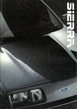 Brochure Depliant Ford Sierra L GL Ghia 2.0iS XR4x4 1985 ITA 32 pag +All.to