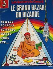 LES DOSSIERS DU CANARD N° 36 de 1990  LE GRAND BAZAR DU BIZARRE COUVERTURE CABU