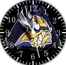Minnesota Vikings Frameless Borderless Wall Clock Nice For Gifts or Decor F133