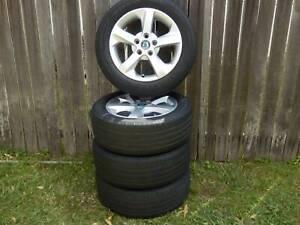 4 X Skoda Octavia Genuine Proxima Alloy Wheels and Toyo Tyres Fits VW, Audi