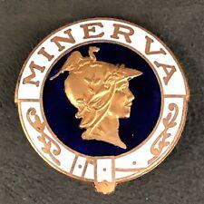 More details for minerva cars automobiles enamel lapel pin badge