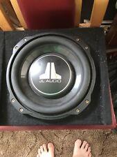 JL Audio 10TW3-D4 10-inch (250 mm) Subwoofer Driver, 400W, Dual 4Ω Car Audio Su