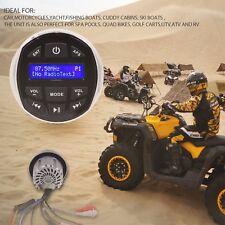 Gauge Style Marine Stereo Portable DAB+ Radio Bluetooth Mp3 Player Fm Radio USB