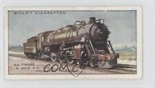 1930 Wills Railway Locomotives #48 Baltimore & Ohio RR (USA) President Class 1x2