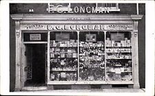 Dorchester. Frederick George Longman, 4 Cornhill Shop Front. Printer & Stationer