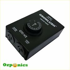 GROWLUSH HYDROPONICS THERMAL CONTROLLER VENTILATION ORDOUR CONTROL IN GROW TENT