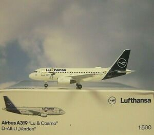 Herpa Wings 1:500  Airbus A319  Lufthansa LU  D-AILU  534451 Modellairport500