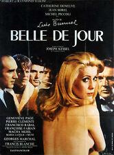 Affiche 120x160cm BELLE DE JOUR 1967 Luis Bunuel - Catherine Deneuve, Piccoli R