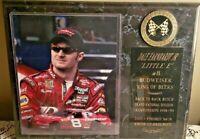 "NASCAR Dale Earnhardt Jr. ""Little E"" #8 Budweiser King of Beers Plaque Racing"