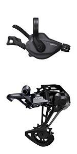 New SHIMANO XT, Right Shifter+ Rear Derailleur, SL-M8100-R/RD-M8100-SGS, 1x12