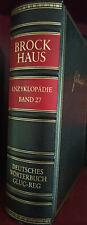 Brockhaus Enzyklopädie 19. Auflage - Wörterbuch Band 27 Capra-Leder Goldschnitt
