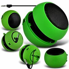 Green Portable Capsule Rechargeable Compact Speaker For Samsung Galaxy S4