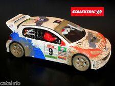 Peugeot 206 WRC Efecto Barro Scalextric 1/32 Nuevo nº 9