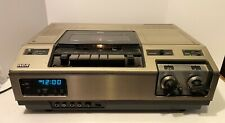 New listing Vintage Rca Top-Load Vcr With Tuner Vet 180 For Parts/Repair *Heavy*