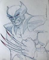 Wolverine- Original Art Sketch Commission - Elliot Fernandez-JerkMonger