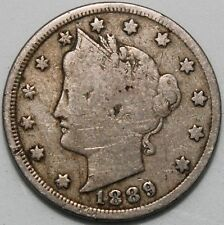 More details for 1889 | u.s.a. liberty nickel 5 cents | cupro-nickel | coins | km coins