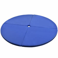"2"" Blue Pole Dance Practice Yoga Exercise Stripper Safety Cushion Crash Mat Pad"