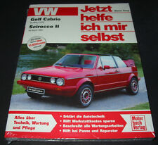 Reparaturanleitung VW Golf I 17 Cabrio 1 ab 1979 Scirocco II Typ 53 B ab 1981