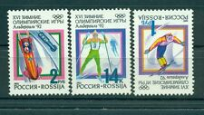 Russie - Russia 1992 - Michel n. 220/22 - Jeux olympiques d'hiver - Albertville