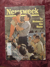 NEWSWEEK December 30 1963 Dec 12/30/63 MISSIONARY'S NEW MISSION CHRISTMAS +++
