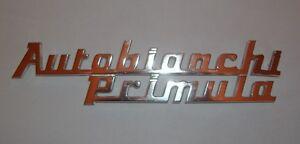 AUTOBIANCHI PRIMULA/ SCRITTA POSTERIORE/ REAR NAMEPLATE