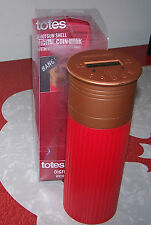 Totes - SHOTGUN SHELL DIGITAL COIN BANK w/Sound! - Adds Coins & Deducts! - NIP!