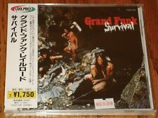 GRAND FUNK RAILROAD JAPAN CD WITH OBI STILL FACTORY SEALED   SURVIVAL
