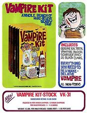Vampire Kit Vintage High Quality Metal Magnet 3 x 4 inches 9431