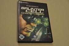 PC Game Spiel - Splinter Cell Chaostheory - Deutsch komplett - DVD Rom