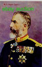 H.M.Carol I Of Romania,Old Vintage Postcard Royalty