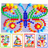 AM_ BL_ Children Puzzle Peg Board With 296 Pegs For Kids Early Educational Toys