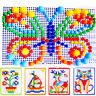 LN_ Children Puzzle Peg Board With 296 Pegs For Kids Early Educational Toys La