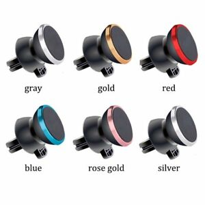 Universal In Car Magnetic Air Vent Mobile Phone Mount Holder Magnet Stand