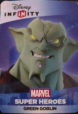 Disney Infinity 2.0 Marvel Spider-Man Green Goblin Web Code Card