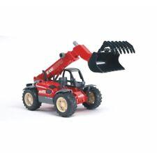 Bruder #02125 Manitou Telescopic Loader MLT 633 -New Telehandler #2125 Tractor