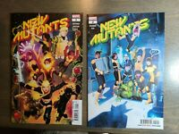 NEW MUTANTS 2 book lot #1,2 (2020) DX Main (Cover A) Marvel Comics NM