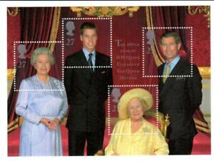 2000 GB QUEEN MOTHER 100th Birthday Miniature Sheet MS2161 MNH