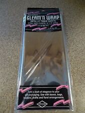 """3-Pack Silver Beistle 50602-S Gleam 'N Wrap Metallic Sheets 18"""" x 30"""""""