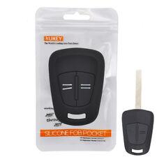 For Vauxhall Corsa D Agila H Meriva Zafira B Silicone Remote Key Case Fob Cover