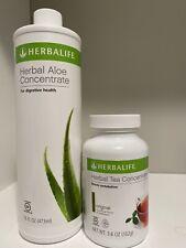 Herbalife Aloe Vera + Herbal Tea Concentrate *Original Flavors* 3.6 Oz